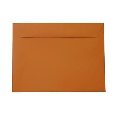 JAM Paper® 9 x 12 Booklet Envelopes, Dark Orange, 1000/carton (61511366B)