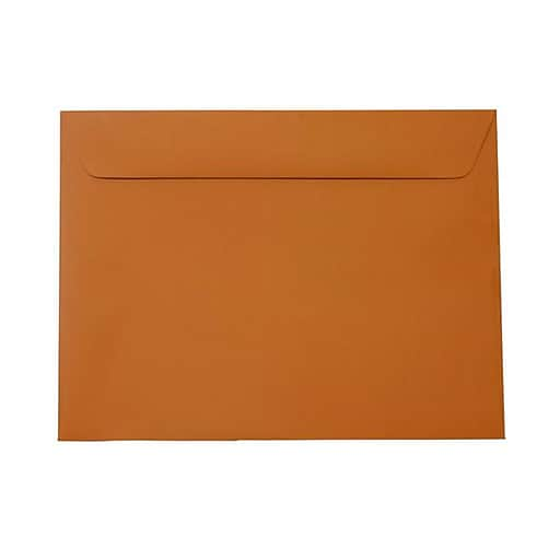 JAM Paper® 9 x 12 Booklet Envelopes, Dark Orange, Bulk 1000/Carton (61511366B)