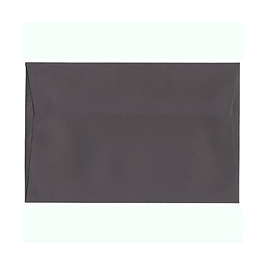 JAM Paper® A9 Invitation Envelopes, 5.75 x 8.75, Dark Grey, 100/Pack (36396436g)