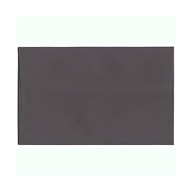 JAM Paper® A10 Invitation Envelopes, 6 x 9.5, Dark Grey, 100/Pack (36396437g)