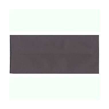 JAM Paper® #10 Business Envelopes, 4 1/8 x 9.5, Dark Grey, 100/Pack (36396438g)