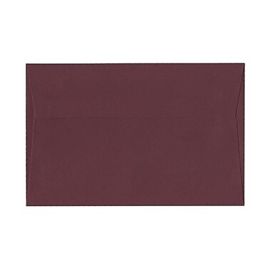 JAM Paper® A9 Invitation Envelopes, 5.75 x 8.75, Burgundy, 100/Pack (6395844g)
