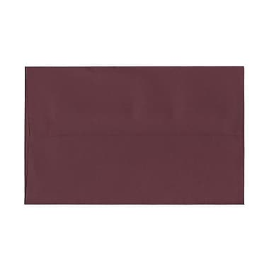 JAM Paper® A10 Invitation Envelopes, 6 x 9.5, Burgundy, 100/Pack (36395842g)