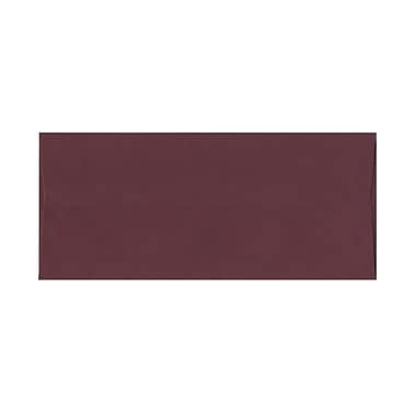 JAM Paper® #10 Business Envelopes, 4 1/8 x 9.5, Burgundy, 100/Pack (36395840g)