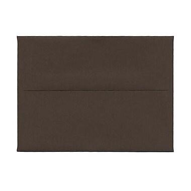 JAM Paper® A6 Invitation Envelopes, 4.75 x 6.5, Chocolate Brown Recycled, 1000/Pack (233710B)