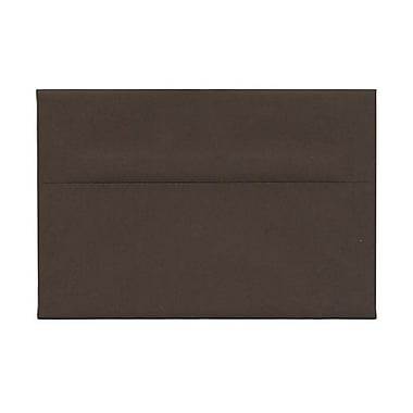 JAM Paper® A8 Invitation Envelopes, 5.5 x 8.125, Chocolate Brown Recycled, 1000/Pack (233712B)