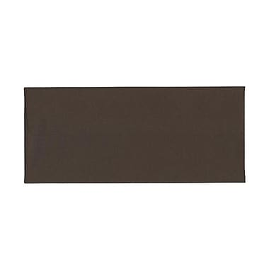 JAM Paper® #10 Business Envelopes, 4 1/8 x 9 1/2, Chocolate Brown Recycled, 1000/carton (233714B)
