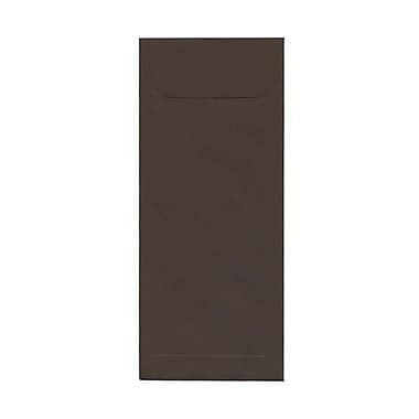 JAM Paper® #12 Policy Envelopes, 4.75 x 11, Chocolate Brown Recycled, 100/Pack (900940723g)