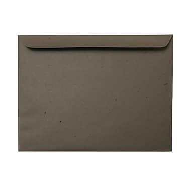 JAM Paper® 9.5 x 12.63 Booklet Envelopes, Chocolate Brown Recycled, 100/Pack (233721g)