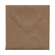 JAM Paper® 3.125 x 3.125 Mini Square Envelopes, Brown Kraft Paper Bag, 25/pack (52797687)