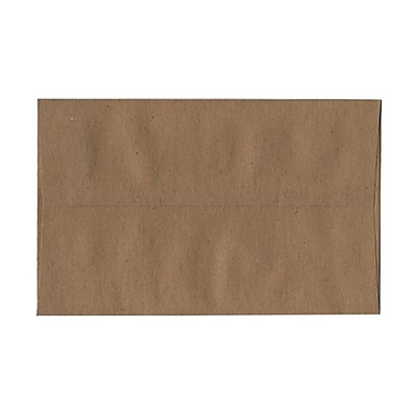 JAM Paper® A10 Invitation Envelopes, 6 x 9.5, Brown Kraft Paper Bag Recycled, 100/Pack (LEKR850g)