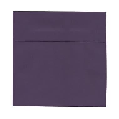 JAM Paper® 8.5 x 8.5 Square Envelopes, Dark Purple, 1000/Pack (563912527B)