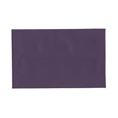 JAM Paper® A10 Invitation Envelopes, 6 x 9.5, Dark Purple, 100/Pack (563912514g)