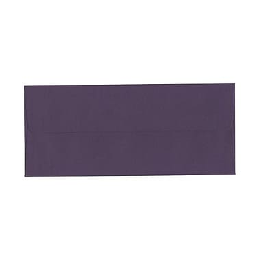 JAM Paper® #10 Business Envelopes, 4 1/8 x 9.5, Dark Purple, 100/Pack (563912516g)