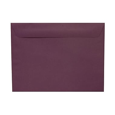 JAM Paper® 9 x 12 Booklet Envelopes, Dark Purple, 100/Pack (572312532g)