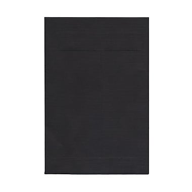 JAM Paper® 6 x 9 Open End Catalog Envelopes, Black, 100/Pack (88095)