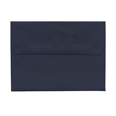 JAM Paper® A6 Invitation Envelopes, 4.75 x 6.5, Navy Blue, 100/Pack (LEBA667g)