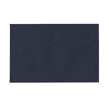JAM Paper® A9 Invitation Envelopes, 5.75 x 8.75, Navy Blue, 100/Pack (LEBA792g)
