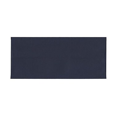 JAM Paper® #10 Business Envelopes, 4 1/8 x 9.5, Navy Blue, 1000/Pack (LEBA367B)