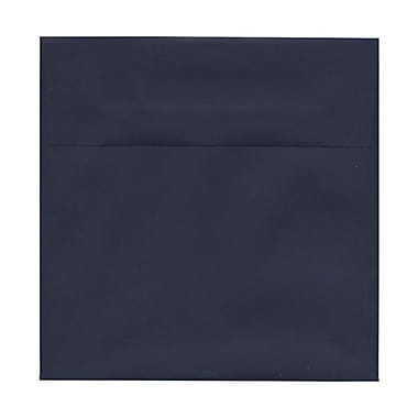 JAM Paper® 6 x 6 Square Envelopes, Navy Blue, 100/Pack (6394884g)