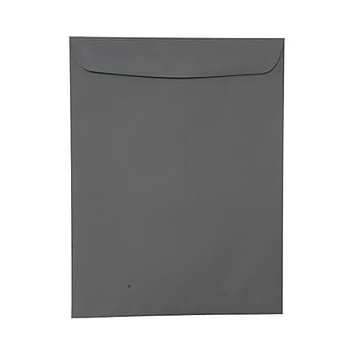 JAM Paper® 10 x 13 Open End Catalog Envelopes, Dark Grey, 10/pack (21285784B)