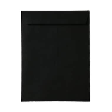 JAM Paper® 10 x 13 Open End Catalog Envelopes, Black, 100/Pack (87733)