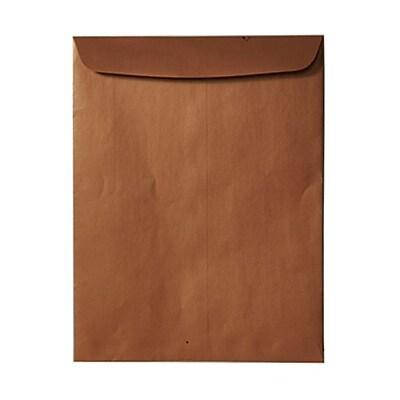 JAM Paper® 10 x 13 Open End Catalog Envelopes, Stardream Metallic Copper, 100/pack (V018327)