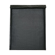 JAM Paper® Bubble Mailers with Peel and Seal Closure, 12 x 15.5, Black Matte, 12/Pack (31406014)