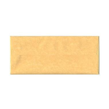 JAM PaperMD – Enveloppes en papier parchemin recyclé avec fermeture gommée, 4 1/8 x 9 1/2 po, or antique, 1000/paquet