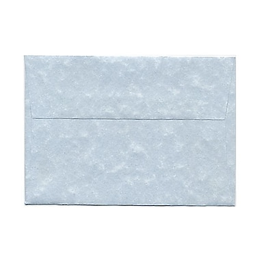 JAM Paper® 4bar A1 Envelopes, 3.63 x 5 1/8, Parchment Blue Recycled, 100/Pack (900877844g)