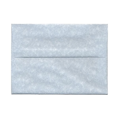 JAM Paper® A7 Invitation Envelopes, 5.25 x 7.25, Parchment Blue Recycled, 1000/Pack (10379B)