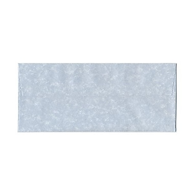 JAM Paper® #10 Business Envelopes, 4 1/8 x 9.5, Parchment Blue Recycled, 1000/Pack (900908732B)