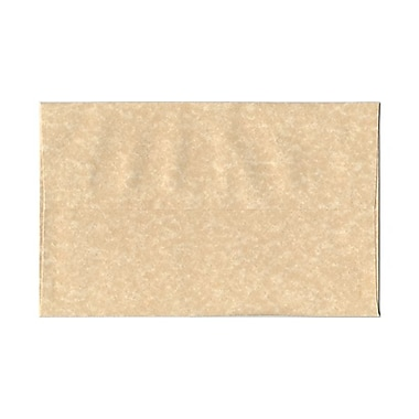 JAM Paper® A10 Invitation Envelopes, 6 x 9.5, Parchment Brown Recycled, 100/Pack (52074g)