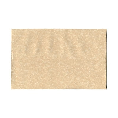 JAM Paper® A10 Invitation Envelopes, 6 x 9.5, Parchment Brown Recycled, 25/pack (52074)
