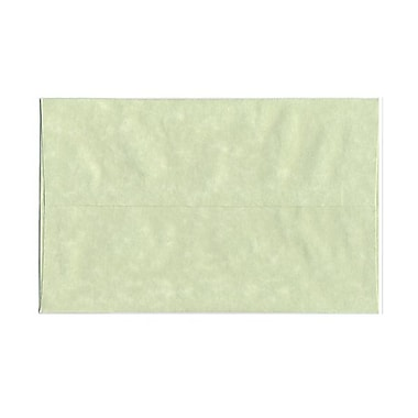 JAM Paper® A10 Invitation Envelopes, 6 x 9.5, Parchment Green Recycled, 100/Pack (82143g)