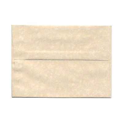 JAM Paper® A7 Invitation Envelopes, 5.25 x 7.25, Parchment Natural Recycled, 25/pack (35394)
