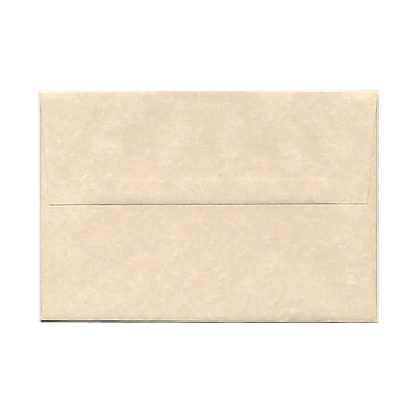JAM Paper® A8 Invitation Envelopes, 5.5 x 8.125, Parchment Natural Recycled, 25/pack (5029)
