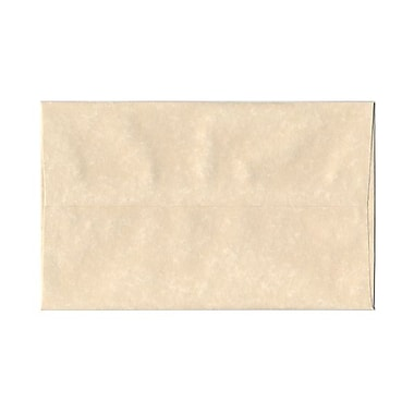 JAM Paper® A10 Invitation Envelopes, 6 x 9.5, Parchment Natural Recycled, 25/pack (47876)