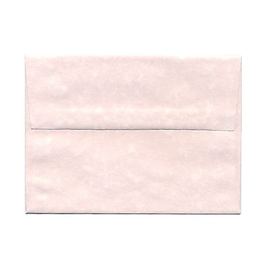 JAM Paper® A6 Invitation Envelopes, 4.75 x 6.5, Parchment Pink Recycled, 1000/Pack (97818B)