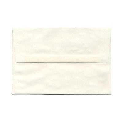 JAM Paper® A8 Invitation Envelopes, 5.5 x 8.125, Parchment White Recycled, 25/pack (70431)