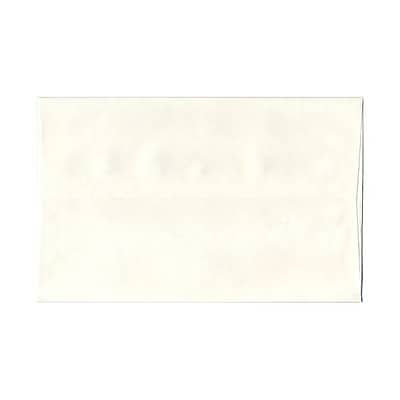 JAM Paper® A10 Invitation Envelopes, 6 x 9.5, Parchment White Recycled, 25/pack (16082)