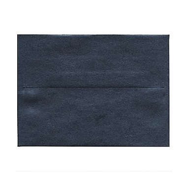 JAM Paper® A6 Invitation Envelopes, 4.75 x 6.5, Stardream Metallic Anthracite Black, 50/Pack (GCST656g)