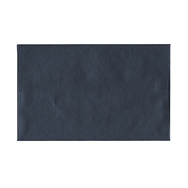 JAM Paper® A8 Invitation Envelopes, 5.5 x 8.125, Stardream Metallic Anthracite Black, 50/Pack (9846g)