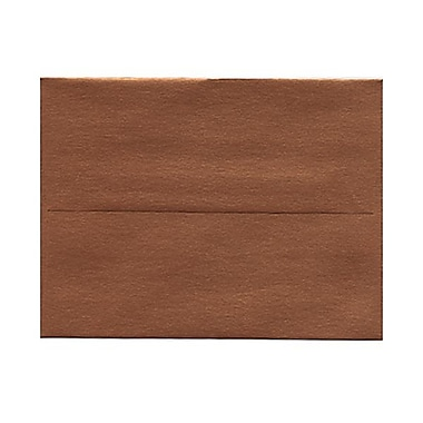 JAM Paper® A2 Invitation Envelopes, 4.38 x 5.75, Stardream Metallic Copper, 50/Pack (v018251g)