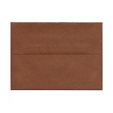 JAM PaperMD – Enveloppes livret Stardream fini métallique avec fermeture gommée, 4 3/4 x 6 1/2 po, cuivre, 1000/paquet