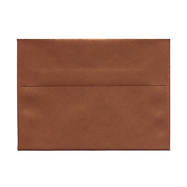 JAM Paper® A7 Invitation Envelopes, 5.25 x 7.25, Stardream Metallic Copper, 50/Pack (GCST701g)