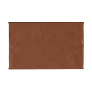 JAM Paper A10 Invitation Envelopes, 6 x 9.5, Stardream Metallic Copper, 50/Pack (v018301g)