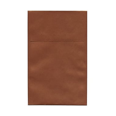 JAM Paper A10 Policy Envelopes, 6 x 9.5, Stardream Metallic Copper, 50/Pack (187021g)