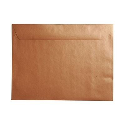 JAM Paper® 9 x 12 Booklet Envelopes, Stardream Metallic Copper, 25/pack (86416)