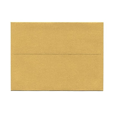 JAM Paper® A6 Invitation Envelopes, 4.75 x 6.5, Stardream Metallic Gold, 50/Pack (GCST658g)
